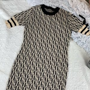 FF UNBRANDED size 36 small / x-small dress black